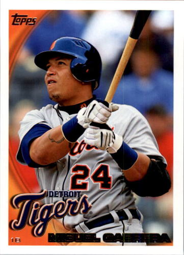 Photo of 2010 Topps #623 Miguel Cabrera