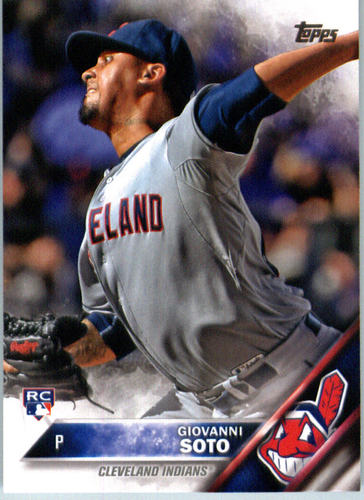 Photo of 2016 Topps #692 Giovanni Soto RC