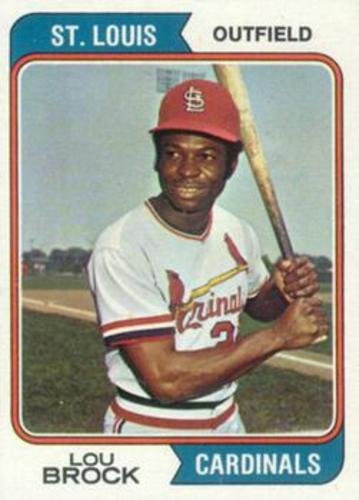 Photo of 1974 Topps #60 Lou Brock