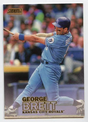 Photo of 2016 Stadium Club Gold #180 George Brett