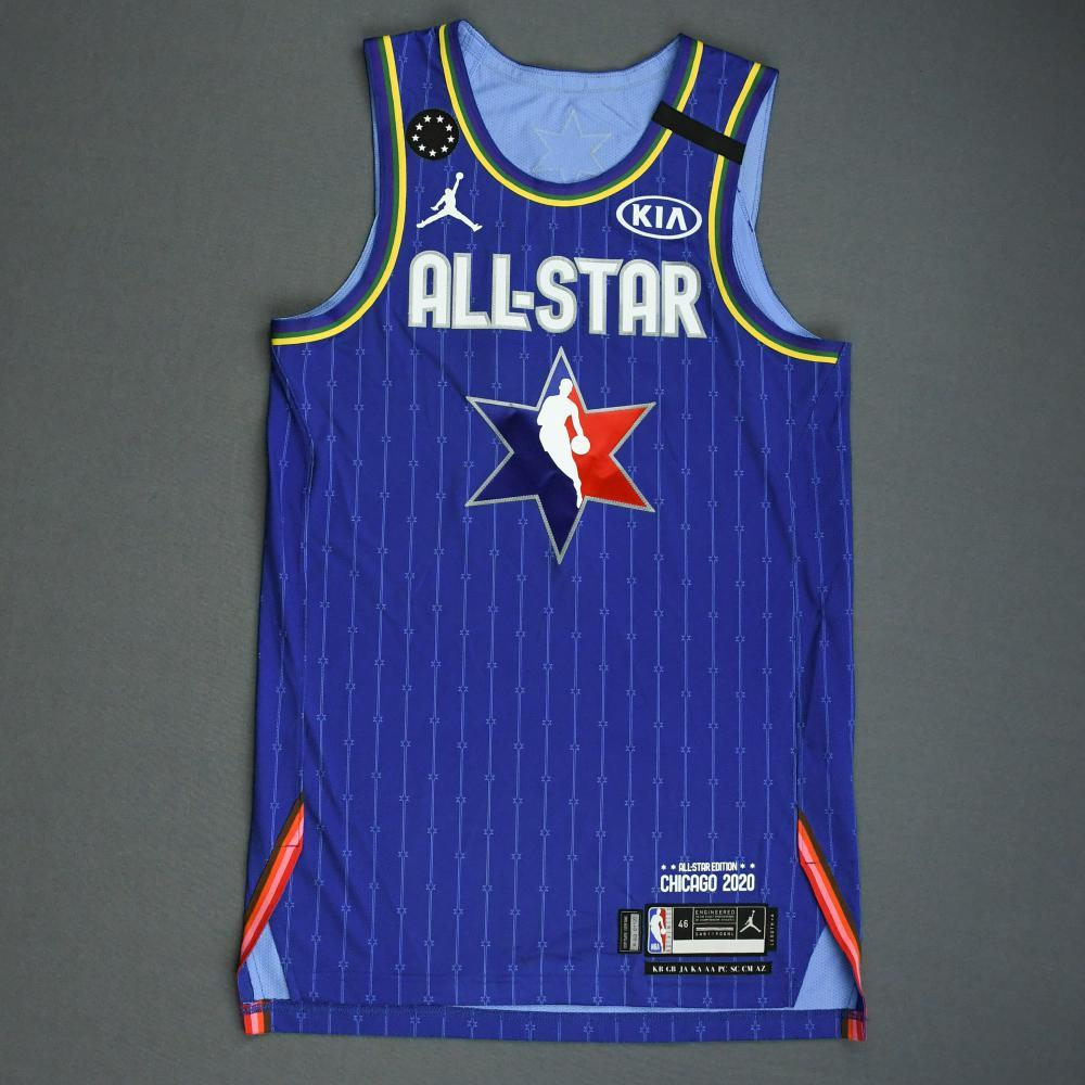 Ben Simmons - 2020 NBA All-Star - Game-Worn Jersey Charity Auction - Team LeBron - 1st and 2nd Quarter