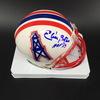 HOF - Oilers Elvin Bethea Signed Mini Helmet