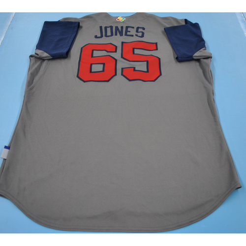 Photo of Game-Used Jersey - 2017 World Baseball Classic - Team USA - Nate Jones - Round 1 - Size 48
