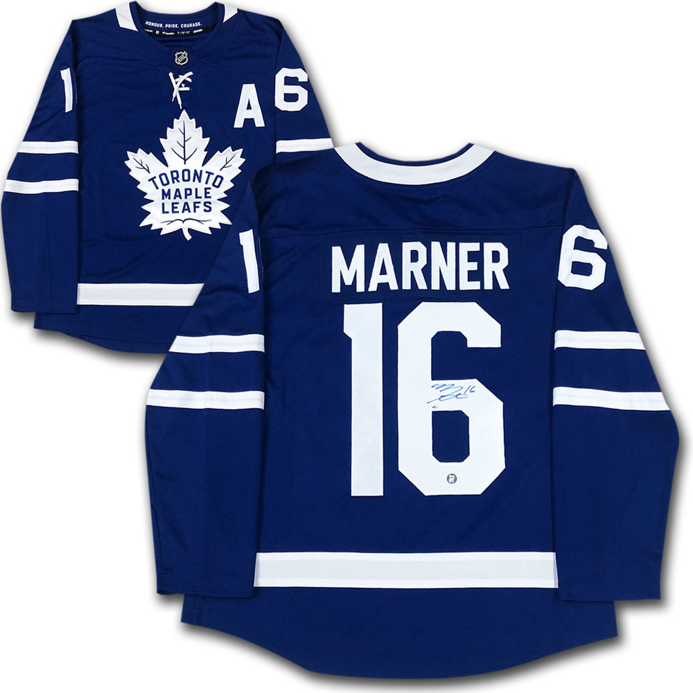 Mitch Marner Autographed Toronto Maple Leafs Fanatics Jersey
