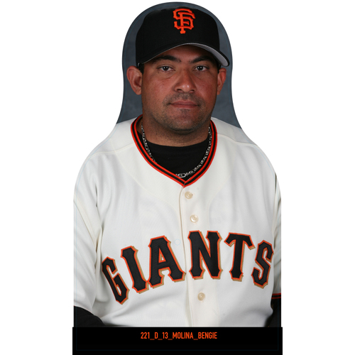 Photo of Giants Community Fund: Giants Bengie Molina Cutout