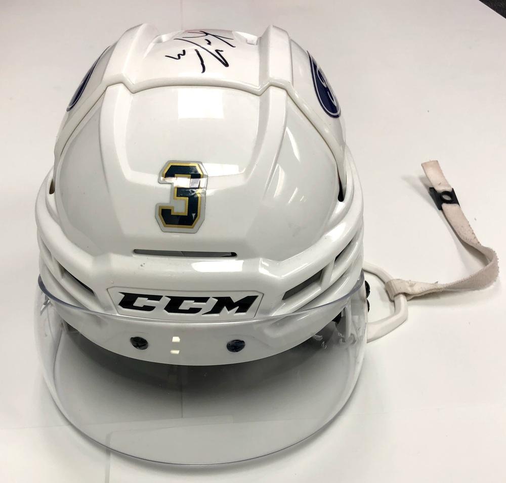 #3 Keith Yandle Game Used Helmet - Florida Panthers