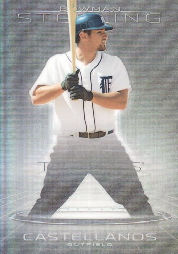 Photo of 2013 Bowman Sterling Prospects Refractors #9 Nick Castellanos