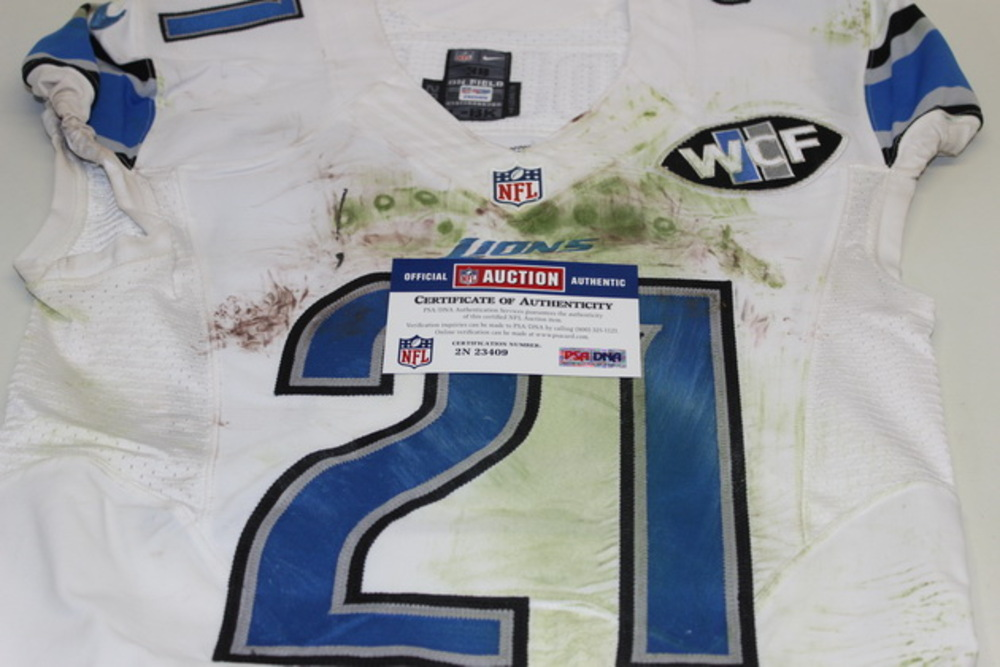 cheap for discount a2eb2 c589c NFL Auction | STS - LIONS AMEER ABDULLAH GAME WORN LIONS ...