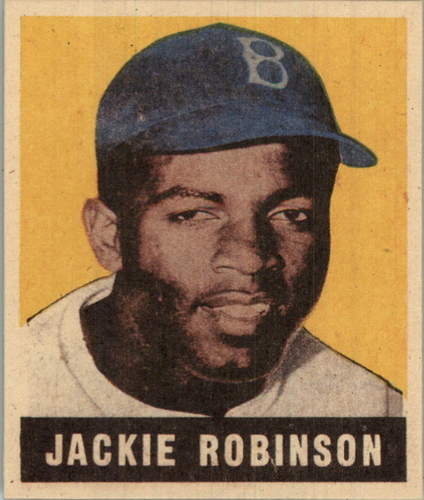 Photo of 1997 Leaf #NNO Jackie Robinson/RC Reprint