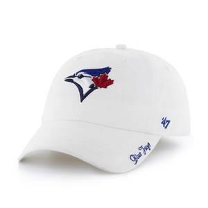 Toronto Blue Jays Women's Miata Adjustable White Cap by '47 Brand