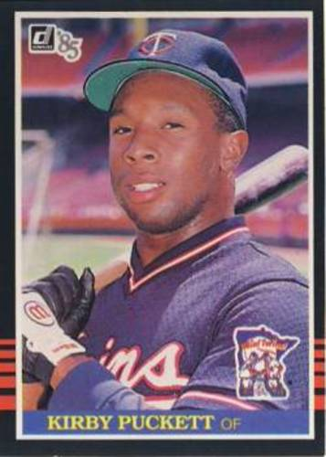 Photo of 1985 Donruss #438 Kirby Puckett Rookie Card -- Hall of Famer
