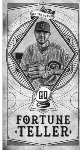 Photo of 2018 Topps Gypsy Queen Fortune Teller Mini #FTM6 Kris Bryant