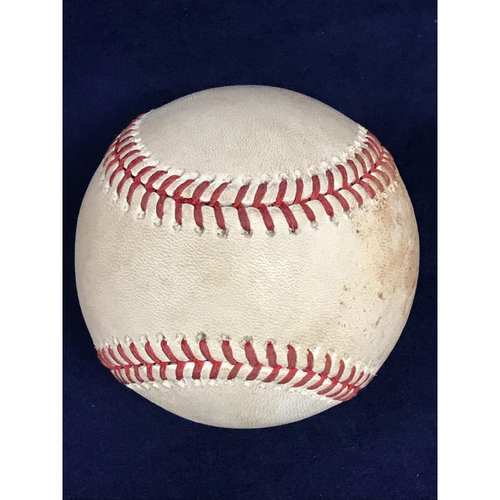 Photo of Game-Used Baseball: Shohei Ohtani Fly Out - 4/6/18