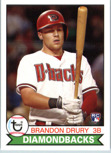 Photo of 2016 Topps Archives #179 Brandon Drury RC