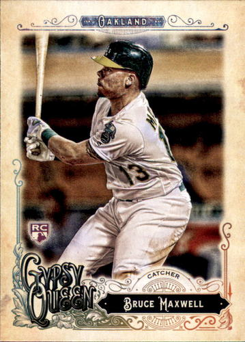 Photo of 2017 Topps Gypsy Queen #215 Bruce Maxwell Rookie Card