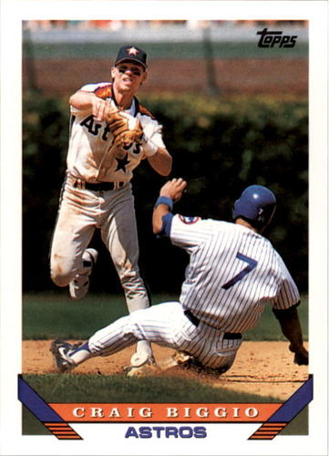 Photo of 1993 Topps #680 Craig Biggio