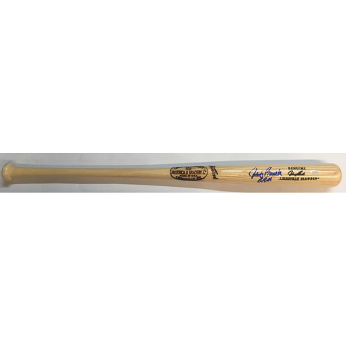 "Photo of Johnny Bench ""BRM"" Autographed Game Model Bat - (Big Red Machine)"