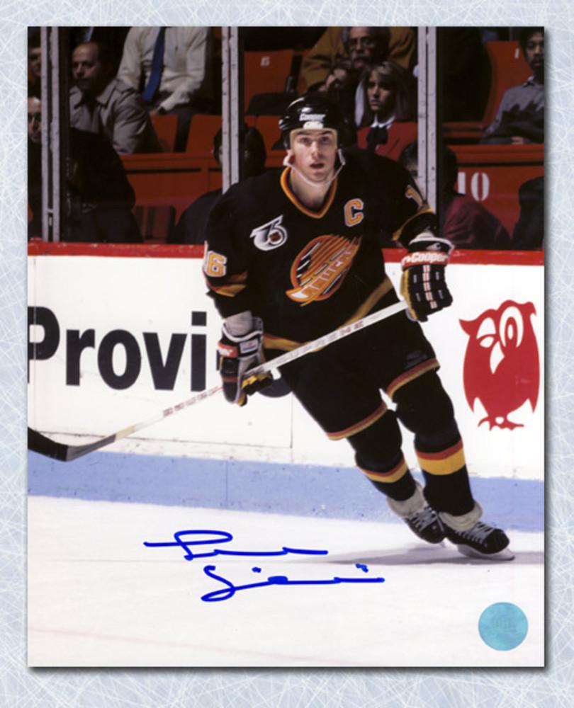 Trevor Linden Vancouver Canucks Autographed Captain 8x10 Photo