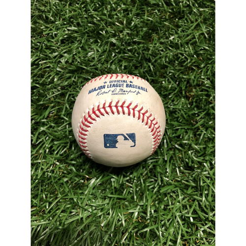Game Used Baseball: Billy Hamilton RBI triple off Ryan Yarbrough - April 24, 2019 v KC