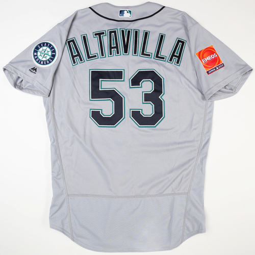 Photo of 2019 Japan Opening Day Series - Game Used Jersey - Dan Altavilla, Seattle Mariners at Oakland Athletics -3/18/2019 , 3/20/2019