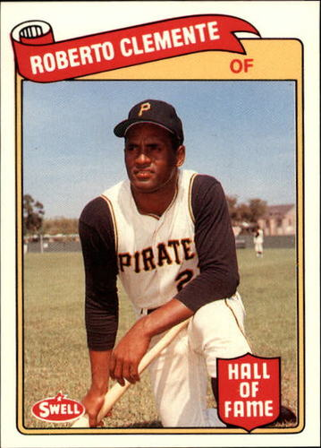 Photo of 1989 Swell Baseball Greats #125 Roberto Clemente