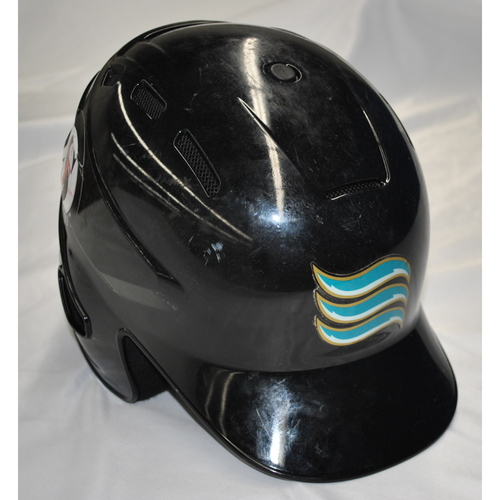 Arizona Fall League - Game-Used Batting Helmet - Player Name: Vidal Brujan (TB) - Jersey Number: 33