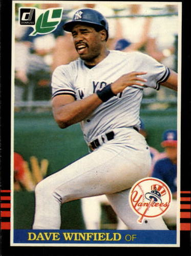 Photo of 1985 Leaf/Donruss #127 Dave Winfield