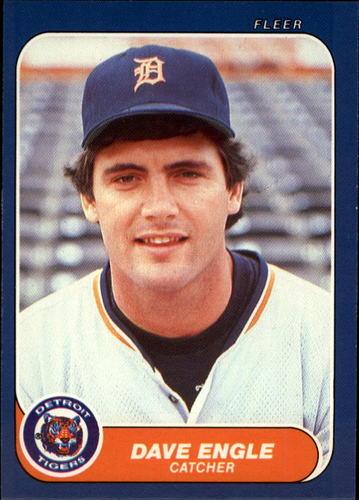 Photo of 1986 Fleer Update #39 Dave Engle