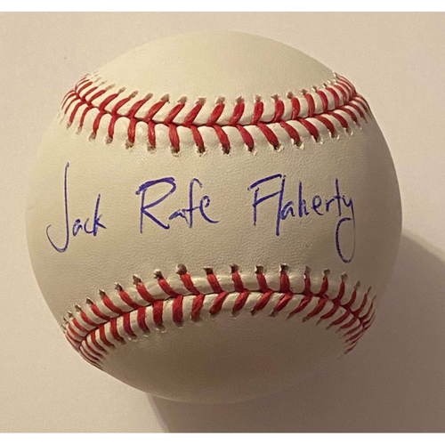 Photo of Jack Flaherty Full Name Autographed Authentic Baseball