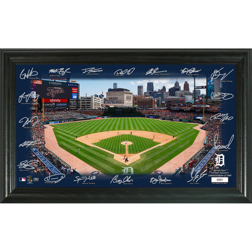 Photo of Detroit Tigers 2020 Signature Field Limited Edition Frame