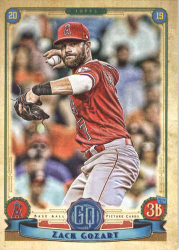 Photo of 2019 Topps Gypsy Queen #229 Zack Cozart