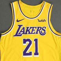 Zach Norvell Jr. - Los Angeles Lakers - NBA China Games - Game-Worn Icon Edition Jersey - 2019-20 NBA Season