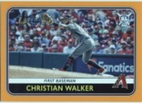 Photo of 2020 Topps Big League Orange #152 Christian Walker