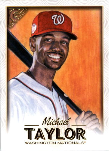 Photo of 2018 Topps Gallery #4 Michael Taylor