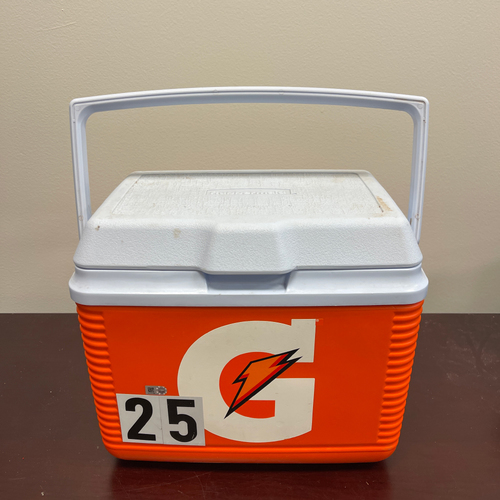 Photo of Minnesota Twins:  Team-Issued 2020 Personal Gatorade Cooler #25 - Byron Buxton