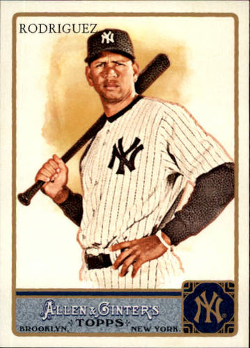 Photo of 2011 Topps Allen and Ginter #260 Alex Rodriguez