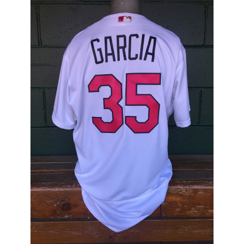 Cardinals Authentics: Greg Garcia Mother's Day Jersey
