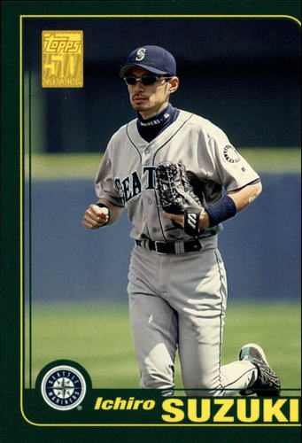 Photo of 2006 Topps Rookie of the Week #13 Ichiro Suzuki 01