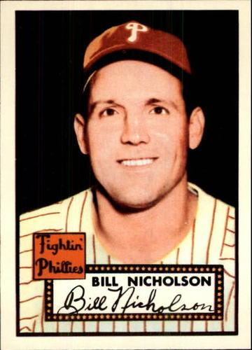 Photo of 1983 Topps 1952 Reprint #185 Bill Nicholson