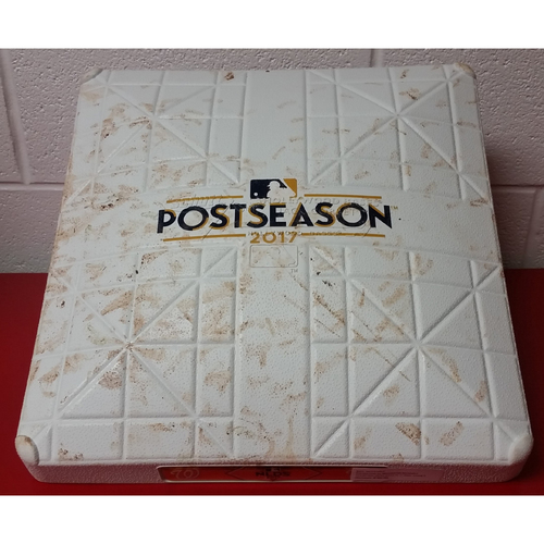 Photo of NLDS Game 5 Game-Used Base: 1st Base, Inning 9