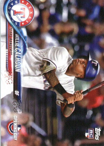 Photo of 2018 Topps Opening Day #118 Willie Calhoun