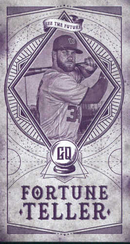 Photo of 2018 Topps Gypsy Queen Fortune Teller Mini #FTM15 Noah Syndergaard