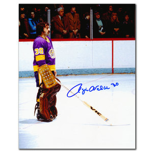 0c82a9ab Rogie Vachon Los Angeles Kings NATIONAL ANTHEM Autographed 8x10Rogie Vachon Los  Angeles Kings NATIONAL ANTHEM Autographed 8x10