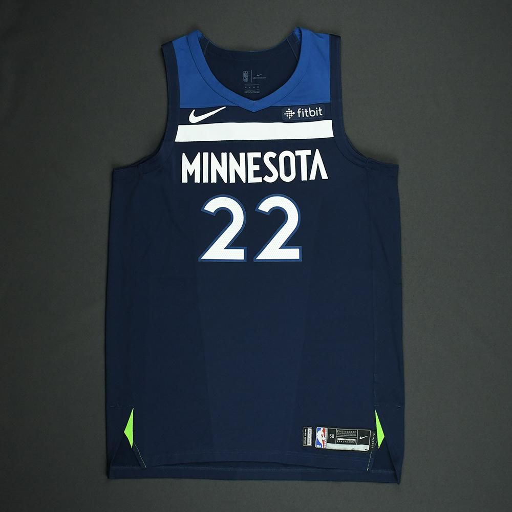 Andrew Wiggins - Minnesota Timerwolves - NBA Christmas Day '17 Game-Worn Jersey