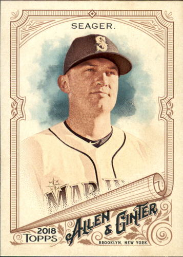 Photo of 2018 Topps Allen and Ginter #17 Kyle Seager