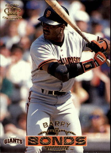 Photo of 1996 Pacific #202 Barry Bonds