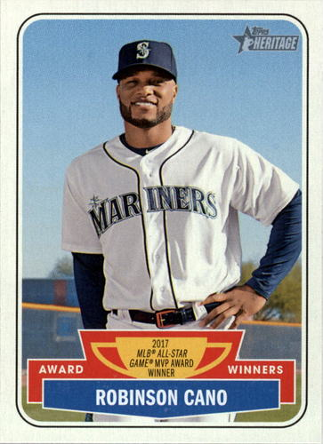 Photo of 2018 Topps Heritage Award Winners #AW8 Robinson Cano