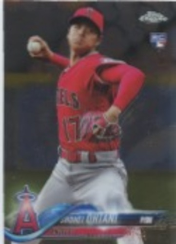 Photo of 2018 Topps Chrome Update #HMT1 Shohei Ohtani Rookie Card
