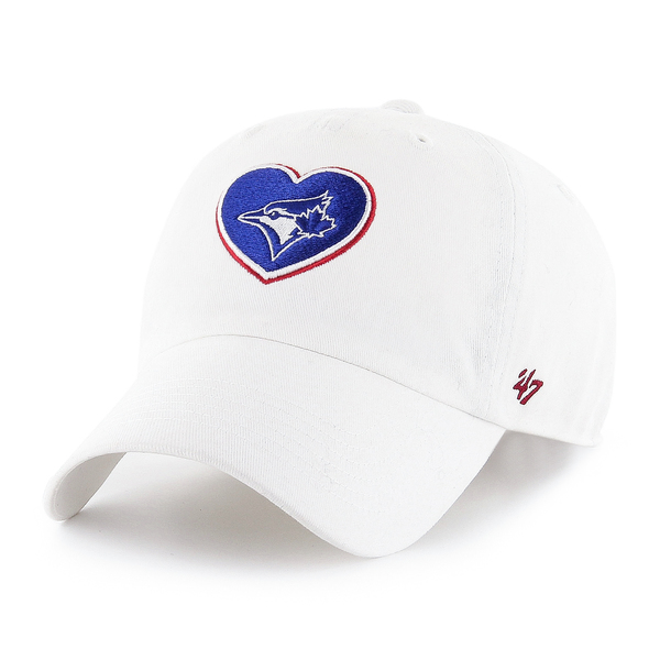 Toronto Blue Jays Youth Courtney Clean Up Adjustable Cap by '47 Brand