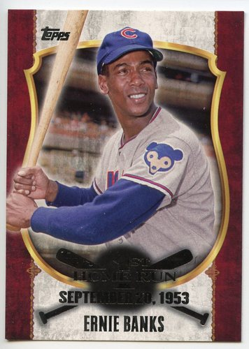 Photo of 2015 Topps Update First Home Run Silver #FHR1 Ernie Banks